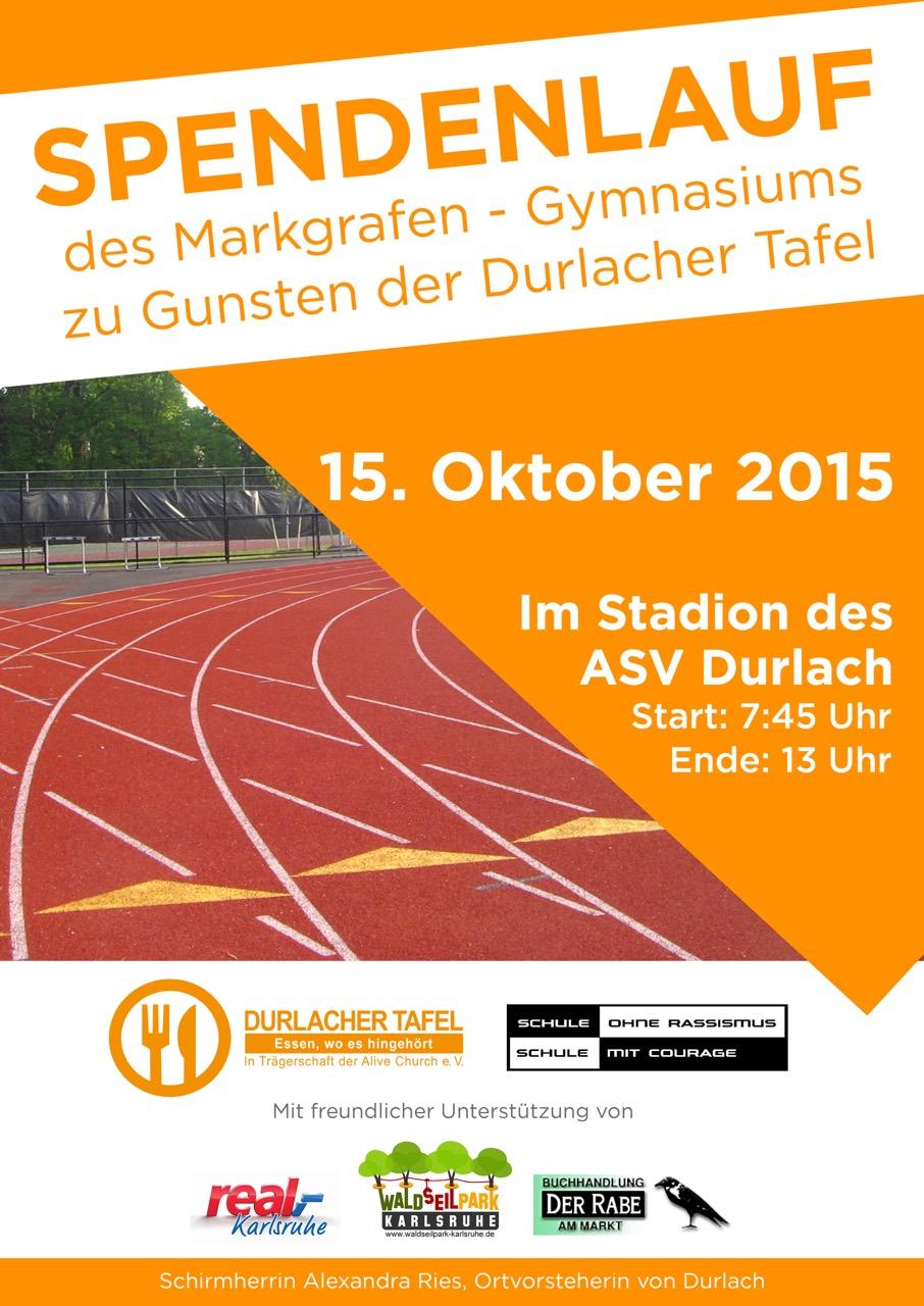 Sponsorenlauf 2015 Markgrafengymnasium