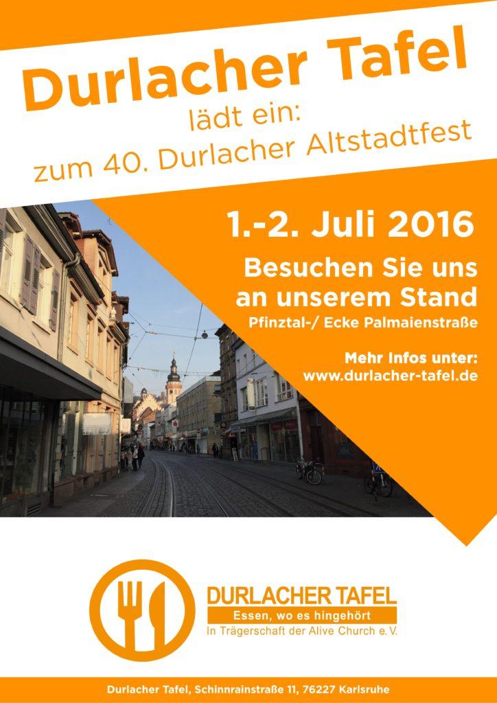 Plakat Altstadtfest 2016
